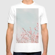 Waving in the Sky White Mens Fitted Tee SMALL