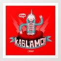 Kablamo! Art Print