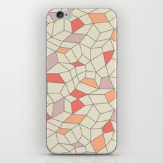 mod colorblock mesh iPhone & iPod Skin