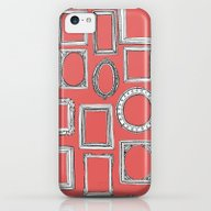 Picture Frames Coral iPhone 5c Slim Case