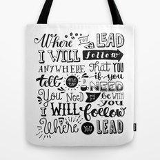 Where You Lead | Gilmore Girls Tote Bag