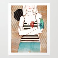 Palpitation V2 Art Print