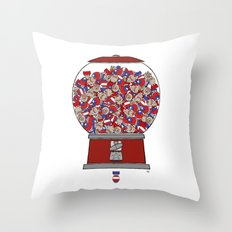 One's Not Enough Throw Pillow