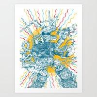 Blitzkrieg Hop Art Print