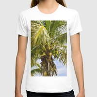palm trees T-shirts featuring Palm Trees by Cheryl - DevilBear Photography