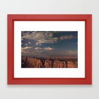 Grand Canyon - Color Framed Art Print