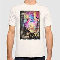 Street Queen Mens Fitted Tee Natural SMALL
