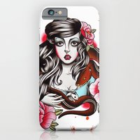The Girl The Snake And T… iPhone 6 Slim Case
