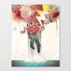 Crooked Creek #9 Canvas Print