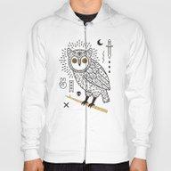 Hypno Owl Hoody
