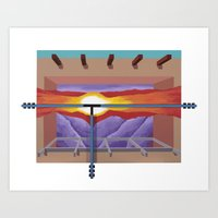House Of The Sun Cloud Art Print