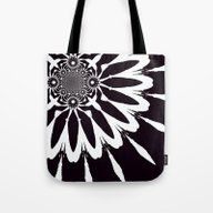 Tote Bag featuring Flower by 2sweet4words Designs