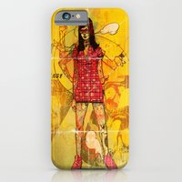 iPhone & iPod Case featuring Vintage 76 (motion) by Eric Bonhomme