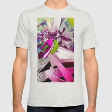 Fresh Mens Fitted Tee Silver SMALL