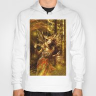 Woman In Forest Hoody