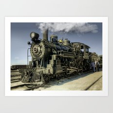 Engine 40 - Ghost Art Print