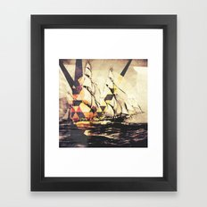 When Your Ship Comes In Framed Art Print