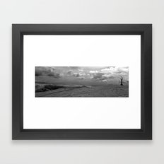 Dead Lonely Tree Framed Art Print