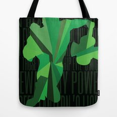 Green Lantern - Quote Tote Bag