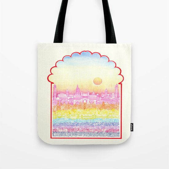 Rangeela India  Tote Bag