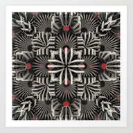 Art Print featuring Calaabachti Matrix by Obvious Warrior