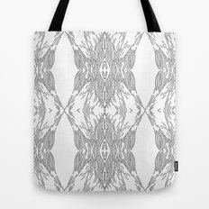 black line structure Tote Bag