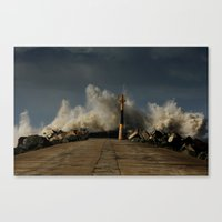 Dark Swell Canvas Print