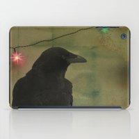 Dark Crow Celebration iPad Case