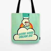 Work Hard. Dream Big. Tote Bag
