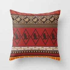 Poke Tribe (Southwest)  Throw Pillow