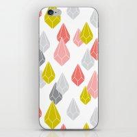Raining Gems - Enchanted iPhone & iPod Skin