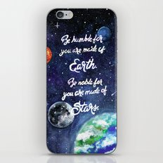 Be Humble For You Are Ma… iPhone & iPod Skin
