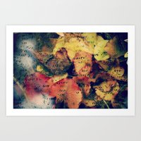 Waterlily Leaves - JUSTA… Art Print