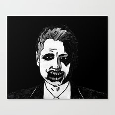 42. Zombie Bill Clinton  Canvas Print