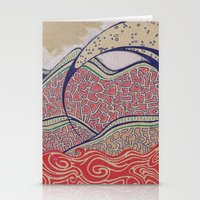 Desert Wave Stationery Cards