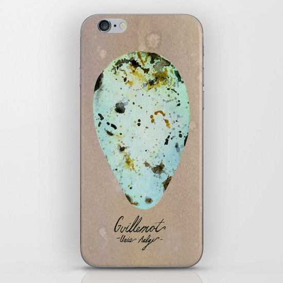 GUILLEMOT EGG iPhone & iPod Skin