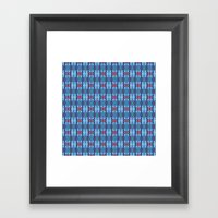Pttrn22 Framed Art Print