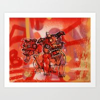 Gong Hey Fat Choy pt. 1 Art Print
