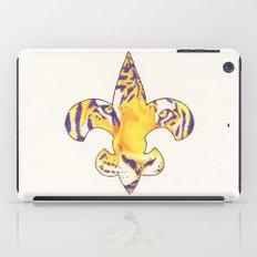 Fleur De Lis LSU Tiger iPad Case