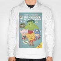 avengers fan art Hoody