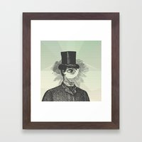 Eyeliner Framed Art Print
