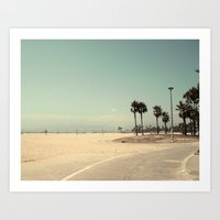 Venice Beach number 2 Art Print