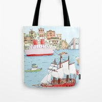 The Harbor Tote Bag