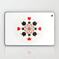 Cat Mandala 1 Laptop & iPad Skin