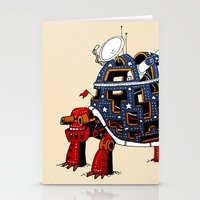 turtle Stationery Cards featuring Turtle  by Lauro