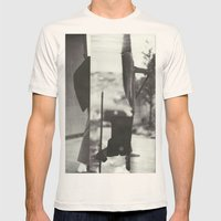 Caribou Mens Fitted Tee Natural SMALL