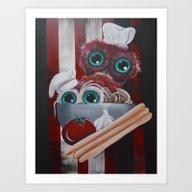 Owlcheff Art Print