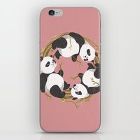 Panda dreams iPhone & iPod Skin