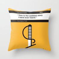 No018 MY The Good Soldier Book Icon poster Throw Pillow