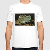 IN THE SCALE OF THINGS Mens Fitted Tee White SMALL